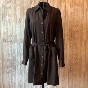 Limited America Brown Button up Dress